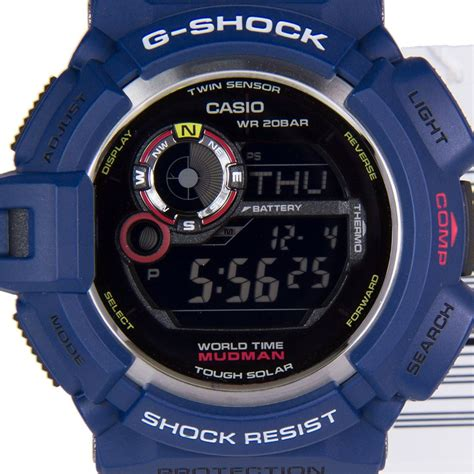 Gshock Mudman Navy Blue G 9300nv 2 casio mens g shock sport g 9300gb 1d g 9300nv 2d g 9300 1 ebay