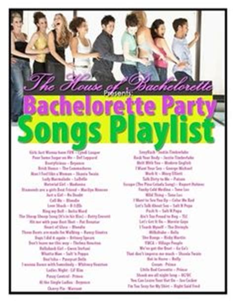 1000 Ideas About Bachelorette Party Playlist On Pinterest Party Playlist Party