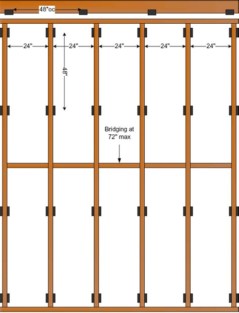 rafter spacing floor joist spacing houses flooring picture ideas blogule
