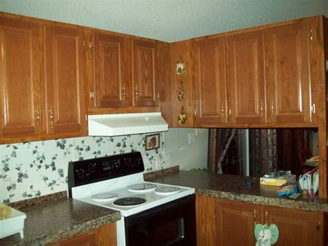 Manufactured Home Kitchen Cabinets by Painting Mobile Home Kitchen Cabinets Home Painting