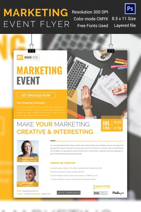 event flyer design templates 31 stunning psd event flyer templates designs free