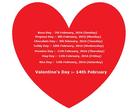 7 days of valentines happy valentines day messages cards quotes pictures