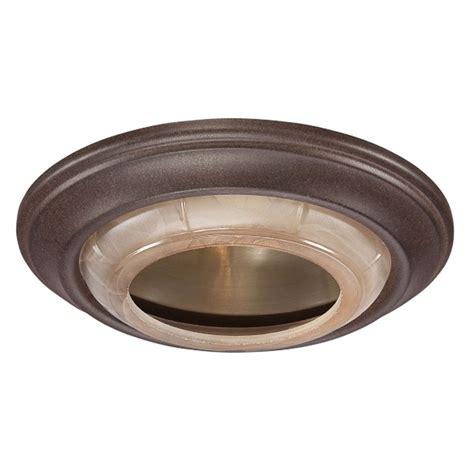 recessed light trim types minka lighting 6 inch nobel bronze finish recessed light