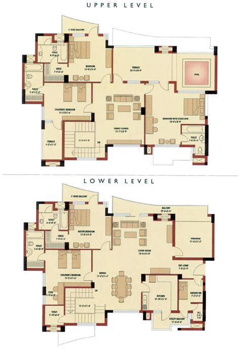 4 Bedroom Duplex Designs 4 Bedroom Duplex Floor Garage Plan 171 Floor Plans