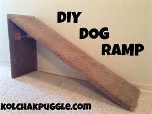 diy dog ramp kol s notes
