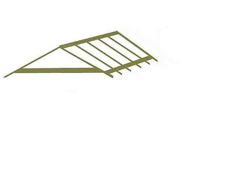 a frame roof pitch how to build a pitch roof gazebo
