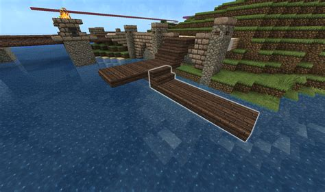 Easy Accessories To Build On Minecraft by How To Build A Dock Minecraft
