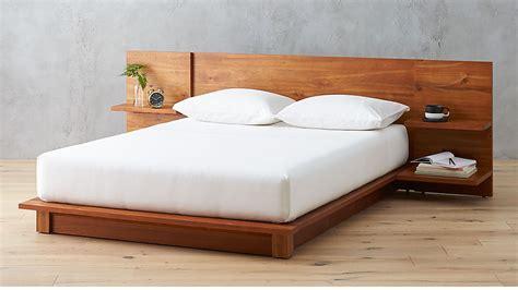 andes acacia bed reviews cb2