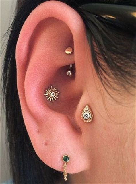 25 best ideas about conch piercings on ear