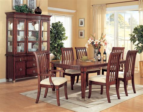cherry dining room furniture how do i clean a dining room chair that has attached seat