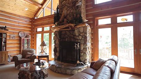chalet style fox woods home tour hybrid log chalet style dickinson homes leclair photo