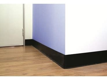 Ac 6319 Black Rubber wall skirting architecture and design
