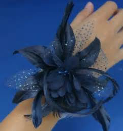 navy blue corsage buy navy blue light blue bbridal hair accessories wrist corsage headdress lace new 2014 hote