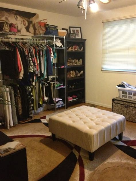 does a bedroom require a closet turning our spare room into my closet need help