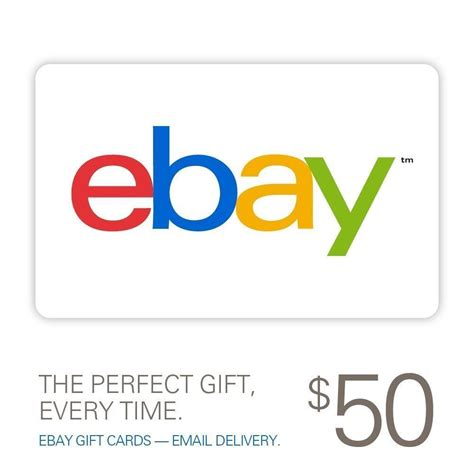 Gift Cards For Ebay - 50 ebay gift card only 45 mybargainbuddy com