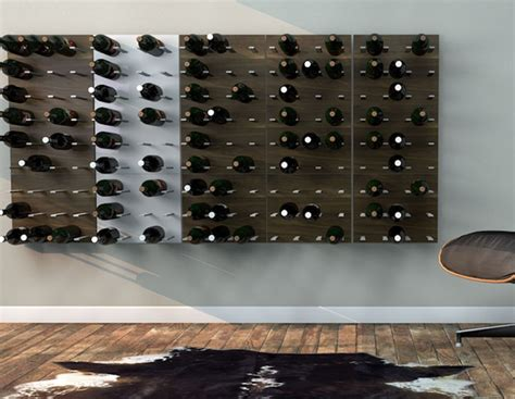 stact wine wall an elegant way to store and display your