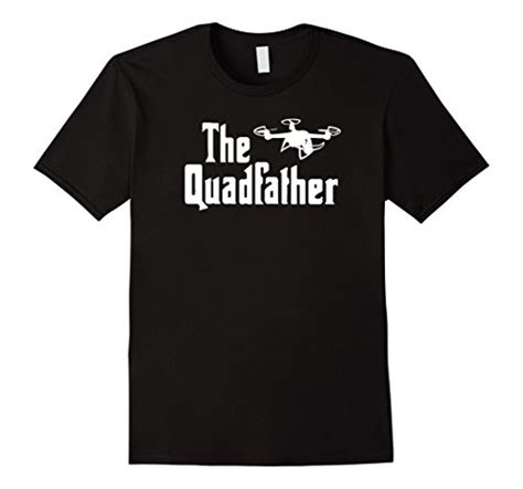 Drone Pilot Black drone pilot t shirt the quadfather