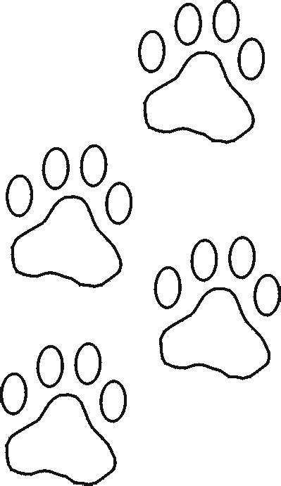 Free Stencils Collection Dog Stencils Construction Paw Print Templates