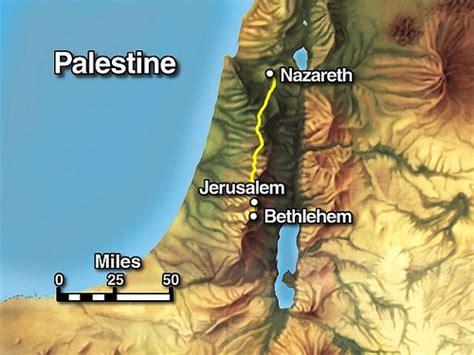 bethlehem jerusalem map birth of jesus region of judah city of bethlehem