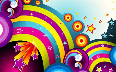 colorful wallpaper with stars wallpapers colors colorful background rainbow stars