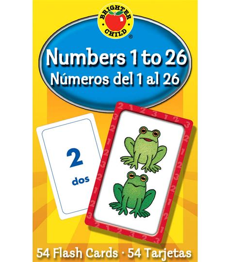 numbers 1 to 26 flash cards carson dellosa publishing