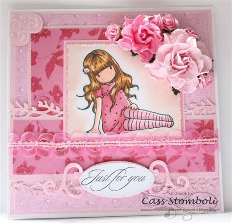 Handmade Cards Blogs - pour some sugar on me pink pink and more pink