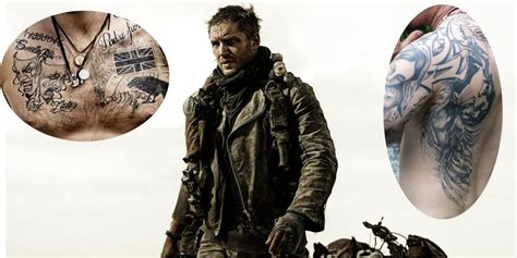 tom hardy tribal tattoo 15 most heavily tattooed actors in
