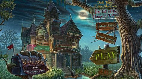 edgar allan poe house of usher dark tales edgar allan poe s the fall of the house of usher walkthrough