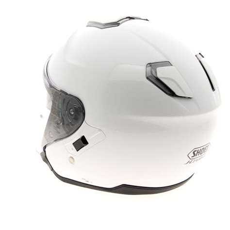 Helm Shoei J Cruise jual helm shoei j cruise luminous white dilengkapi sun visor tali dd rin