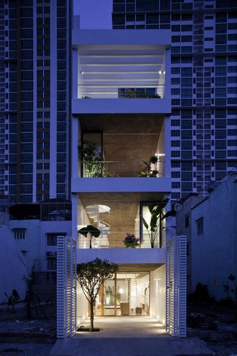 slim house design vietnamese houses featured in int l architecture and design magazine news vietnamnet