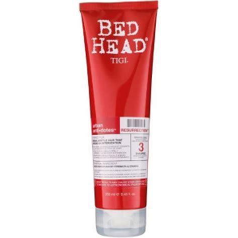 bed head resurrection tigi bed head urban antidotes resurrection shoo 250ml