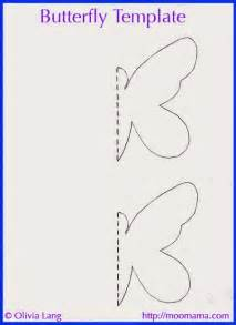 half butterfly template moomama diy 3d butterfly wall with free templates