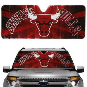 Chicago Bulls Truck Accessories Chicago Bulls Auto Sun Shade Nba Store