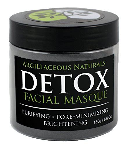 Acne Scar Detox by Detox Mask Bentonite Healing Clay Pore Cleansing