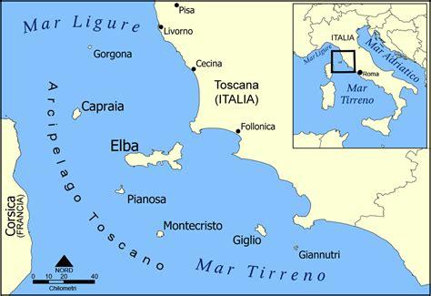 ledusa island italy map islands of italy map