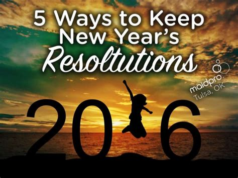 8 Ways To Keep Your New Years Resolutions by 5 Ways To Keep New Year S Resolutions