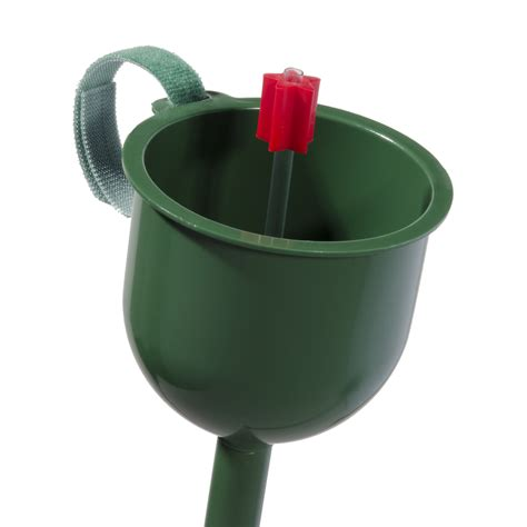 christmas tree water funnel shop santa s magic water spout green plastic tree watering spout at lowes