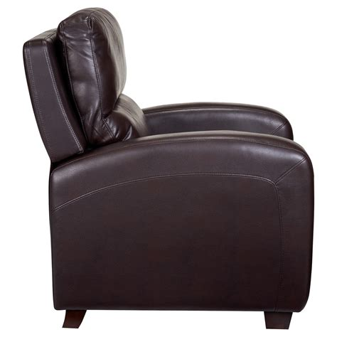 brice leather recliner brice recliner leather dcg stores