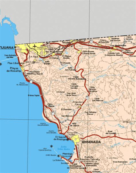 map of mexico baja primo tapia residents rolling with falsified report