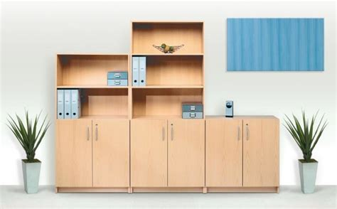 office bookcases quality budget range locking doors