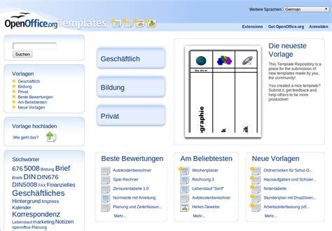 openoffice org templates openoffice org kostenlose vorlagen templates f 252 r