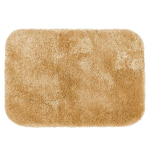 Gold Bathroom Rugs Buy Wamsutta 174 Duet 20 Inch X 34 Inch Bath Rug In Gold From Bed Bath Beyond