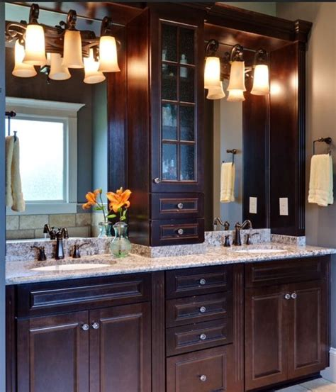 Master Bathroom Cabinet Ideas by Master Bath Vanities And Bathroom Ideas On