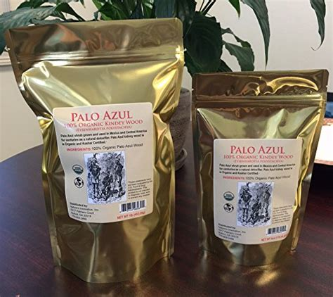 How To Make Palo Azul Tea For Detox by Palo Azul Kidney Wood Certified Organic Blue Stick Detox