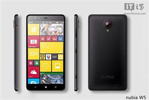 Hp Zte Nubia W5 zte nubia w5 alleged to be the windows phone with a
