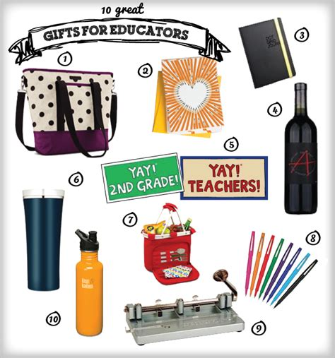 Great Gifts For Teachers - 10 great gifts for educators ms houser