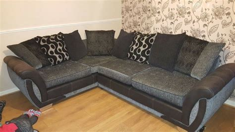 Snuggle Corner Sofa by Corner Sofa Cuddle Chair And Footstool In Norwich