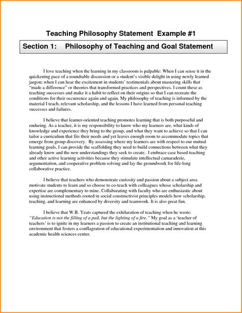 teaching philosophy template teaching philosophy statements exles 43912203 png