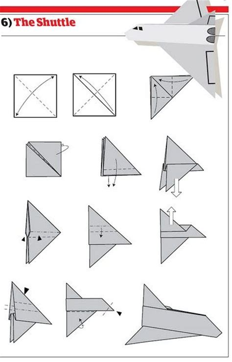 Paper Airplanes - picture how to make cool paper planes