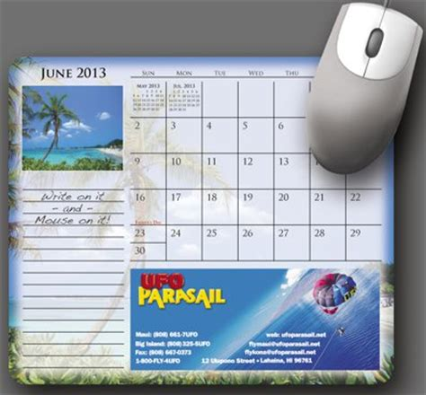 Personalised Calendar Discount Custom Calendar Mouse Pads Personalized In Bulk